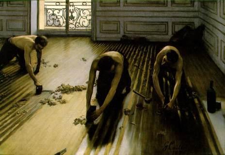 Les raboteurs de parquet 1875