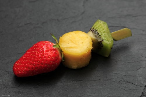 Brochette de fruit