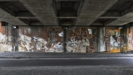La Fresque sous le Pont Aristide Briand