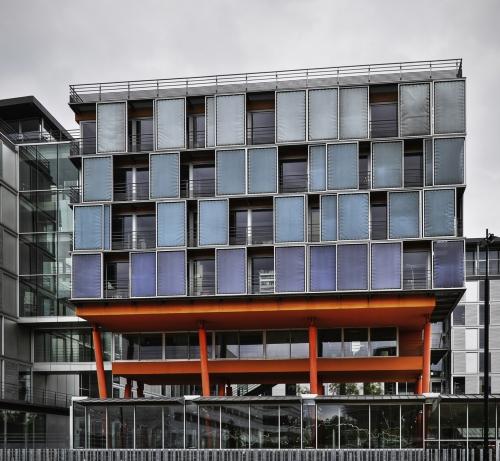 Un immeuble Quai Ferdinand favre.