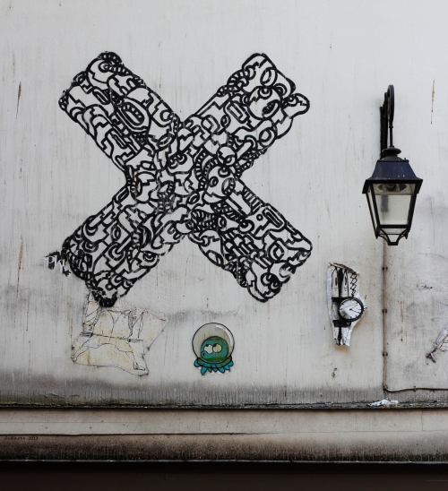Paris 4eme, Près de la rue dauphine.
