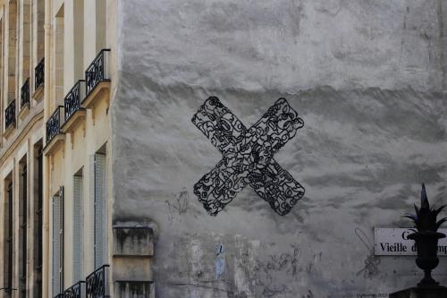 Paris 4eme, près de la rue des rosiers.