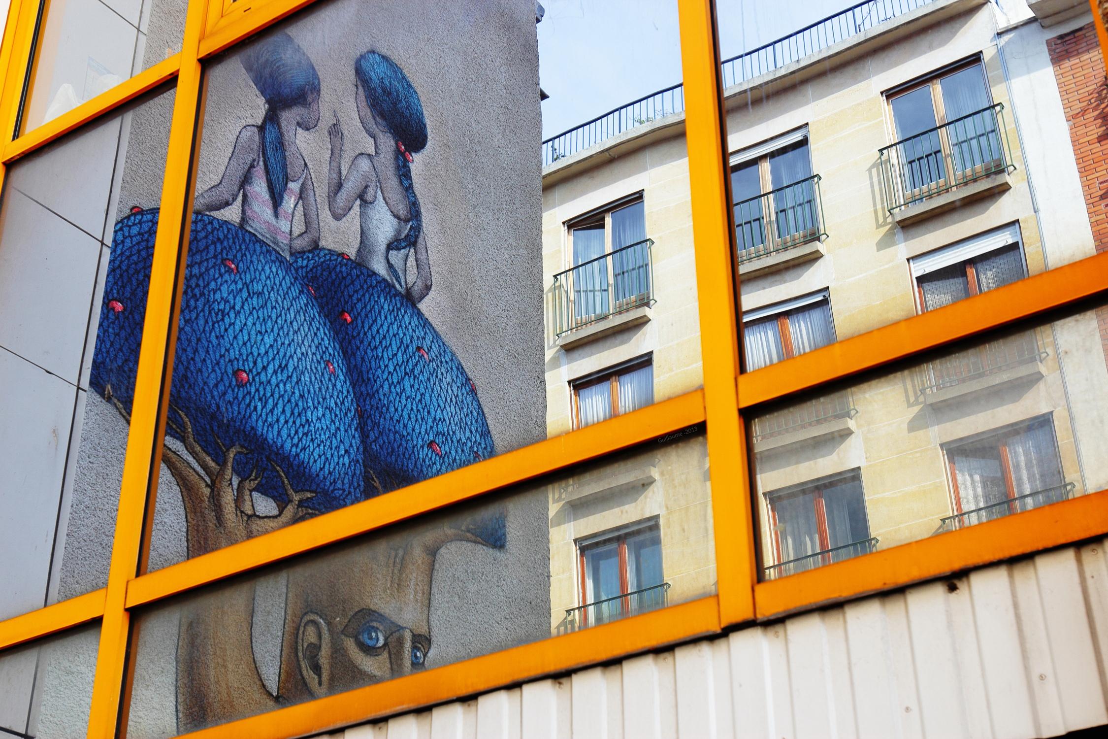 seth street art scenik. Black Bedroom Furniture Sets. Home Design Ideas